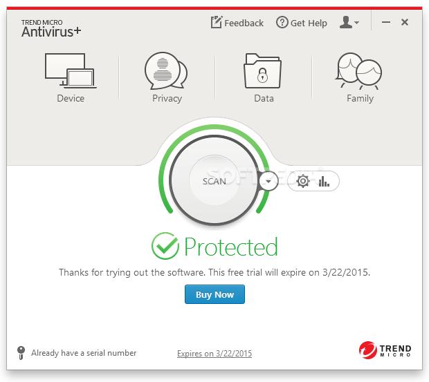 trend antivirus support
