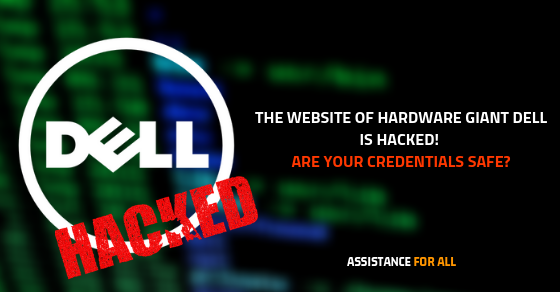 Dell Website Hack