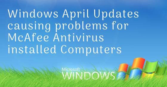 Windows McAfee