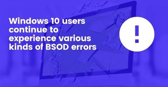 BSOD Error